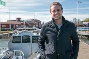 Simon Borgström, delägare i Marine Store-koncernen.