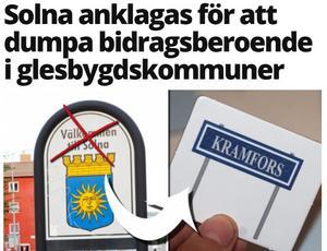 Skärmdump Mitt i Solna, 10 oktober
