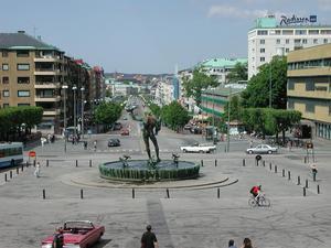 Götaplatsen i Göteborg. Foto: Fred J/ Wikicommons