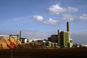 Södra Cells massafabrik vid Mörrum i Blekinge.Foto: Wiki Commons