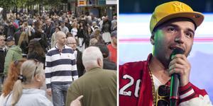 Sean Banan, som firar 10 år som artist, är klar för Köpingsfesten den 25 maj.