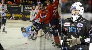 Niklas Prytz och Tuomas Määttä var inblandade i en situation i 79:e minuten när kvartsfinalserien mellan Edsbyn och Bollnäs drog igång i onsdags.