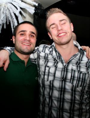 Blue Moon Bar. Jesper och Rikard