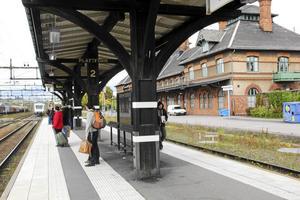 När dubbelspåret ska byggas till Dalslund kommer även dalabanan ut från Krylbo station att få dubbla spår.