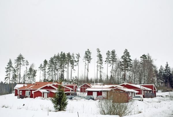 Debatteras. På kommunfullmäktige i Västerås debatterades gruppbostäder för funktionshindrade. Bilden visar Lillhäradsvägens gruppboende.foto: Anders forngren