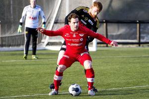 Martin Åberg blev tvåmålsskytt mot Boden.    Foto: ROBBIN NORGREN/ARKIV