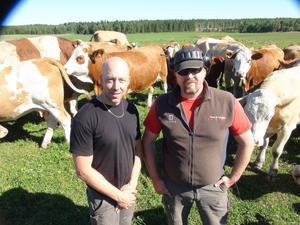 Patrik Agerberg och Mikael Eriksson driver tillsammans sen 2011 Fjöset utveckling AB i Myckelåsen.