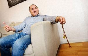 Farog Othman är mycket bedrövad över utvisningen av hans svåger. Foto: Ulrika Andersson