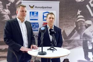 Ordföranden Mattias Jonson och klubbchefen Mats Brokvist beslutade att man skulle byta tränare.