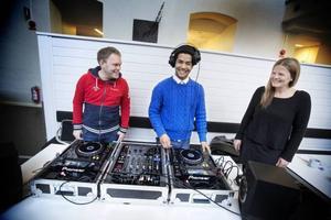 Magnus Stålbring, Yones Housseini och Nathalie Lindgren.