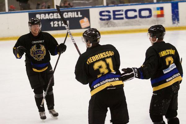 Erik Fredriksson avgjorde matchen med sitt 4-3-mål.