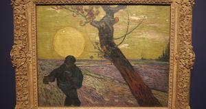 Såningsmannen av Vincent van Gogh, på Van Goghmuseet