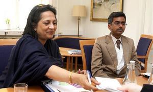 Indiens Sverigeambassadör Deepa Gopalan Wadhwa sätter