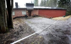 Sedan en dryg vecka tillbaka är den tidigare topphemliga försvarsanläggningen vid Ortdrivarevägen i Grängesberg till salu igen. Den som är villig att betala 590 000 kronor får tillgång till lokalytor på sammanlagt 865 kvadratmeter. Foto: Peter Ohlsson/DT