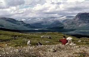 Sommaren 1957 vandrade jag och Gunvor på Kungsleden från Kvickjokk mot Rapadalen med Skerfes.Vandringen slutade i Nikkaloukta. Mycket bra bantningsmetod.Sven Olof Blomster