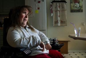 Maria Backlund är stark motståndare till alla former av dödshjälp, smärtlindring i livets slutskede är hon däremot positiv till.