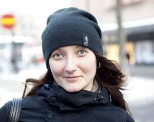 Sofia Larsson, 28 år, ekonom, Gävle– Det tror jag inte.