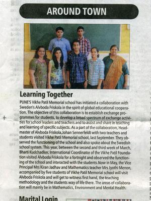 Artikeln i The Indian Express publicerades den 17 maj.