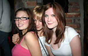 Konrad. Gabriella, Freja och Sandra