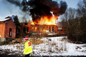 Den 18 april i år kallades räddningsstyrkor återigen till Nyhamnsfabriken. Branden var troligtvis anlagd.