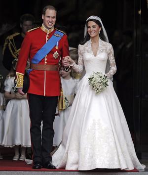 Prins William och Kate Middleton gifter sig i april.