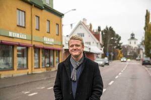 Småstadsliv har varit ett heltidsjobb för Christer Johansson sedan år 2010.