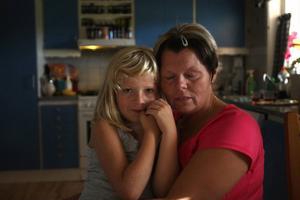 Cancern är ständigt närvarande för Annelie Persson.