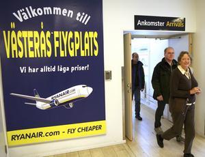 Västerås flygplats är viktig för skolflyg och privatflyg.