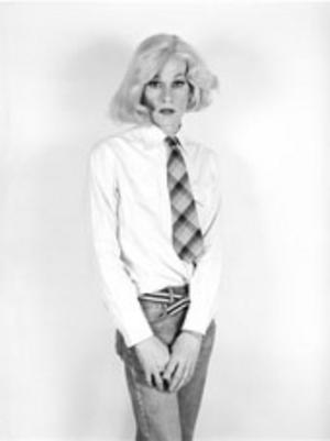 Andy Warhols blottade blick i Lady Warhol