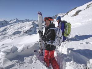 Under en semester i Aostadalen anlitade Britt-Marie Bergström och hennes vänner den auktoriserade bergsguiden Mikke Eriksson.