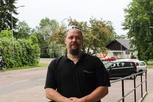 Dennis Hokkanen menar att det finns ett stort behov av en trygghetsförening i Långshyttan.