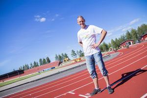 SM-generalen Sören Calleberg ser fram emot att friidrottstävlingarna går av stapeln i Söderhamn under helgen.