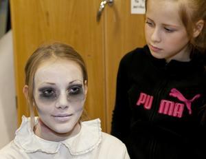 Moa Mellin, 13 år, är egentligen inget zombie-fan.