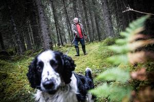 Svenbjörn Kilander berättar att skogen alltid varit förknippad med mystik där olika väsen bodde.