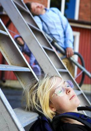 Manda Stenström gör Nymse som blir helt förkrossad när hon dumpas av sin pojkvän.