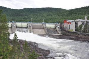 Vid Krångede kraftverk ska det byggas en ny jättettunnel. Bild: Malin Olsson