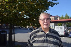 Kjell Andersson, 69 år, Skönsberg.   – Jag är aktiv för Socialdemokraterna och sitter i fullmäktige, så det blir samma parti igen.