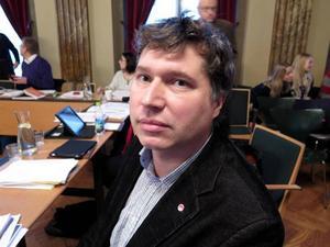 Tord Fredriksen, V, ordförande i Omvårdnadsnämnden.