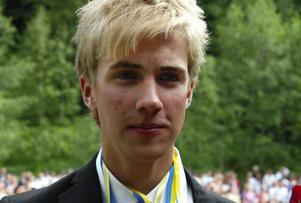 Duktig. Andreas Kyed fick stipendium för särskilt goda studieresultat.