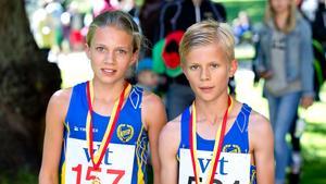 Elsa och Albin Wallenius.