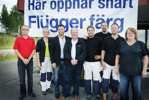 Claes Adolfsson, Anita Adolfsson, Johan Larsson, Lars Hecht, Mikael östgren, Dan Glavén, Michael Andersson och Inger Jonsson, är alla nöjda och förväntansfulla inför det nya.