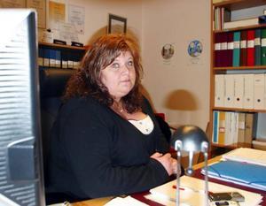 Nancy Fridh, ordförande i Kommunal Härjedalen, kommer att driva kommunens personalnedskärningsförslag till Arbetsmiljöverket.Foto: Stefan Persson