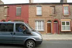 9 Madryn street, här bodde Ringo Starr tills han var fyra år.