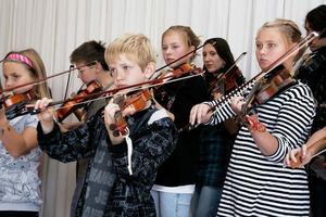 Det var fjärde gången barn och ungdomar mellan 10 och 17 år samlades till folkmusikläger i Alfta hembygdshus.