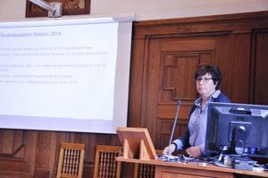 – Vi kommer att klara höstterminens behov och kunna erbjuda förskoleplatser till december 2014, säger Ingela Ferm, verksamhetsplanerare.