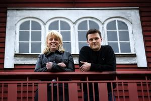 Förhoppningsfulla. Marita Zackrisson och Anders Bjurström ser ljust på framtiden. Klippan satsar på nya verksamheter.