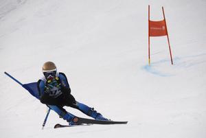 Nolby Alpinas Axel Nyström slutade på en andra plats.