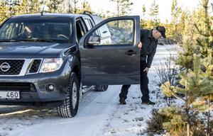 Rovdjurskonsulent Gunnar Ledström på länsstyrelsen kan konstatera att vargparet i Junsele uppspårats igen efter att ha varit försvunnet i omgångar.