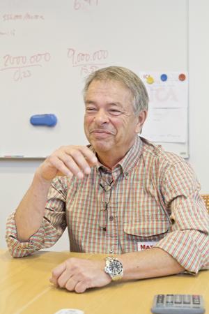 Ica-handlaren Lennart Holmgren hoppas att butiken utvecklas än mer och att den klättrar i Sverige-toppen.