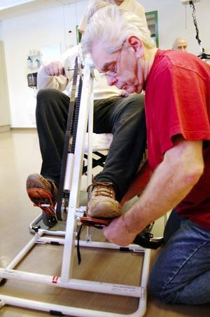 Undersköterskan Lennart Ringbert har länge varit intresserad av vård med inriktning på rehabilitering. När personalen fick söka till den nya rehabavdelningen var det en självklarhet för honom att lämna in en ansökan.